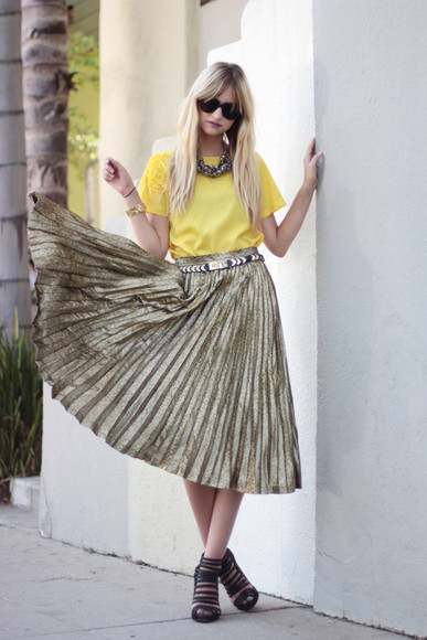 pop culture afternoon maxi pleated