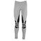 Adidas originals trefoil legging - women's - casual - clothing - medium grey heather/black