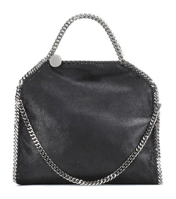Stella McCartney Falabella Shaggy Deer Tote Bag in black