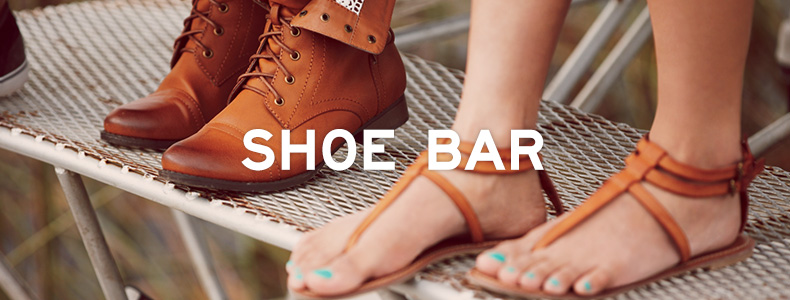 Shoe Bar - FEATURED SHOPS - Aeropostale