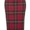 Red check tube skirt - skirts  - clothing  - topshop