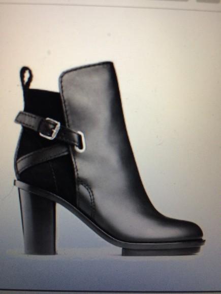 black boots high heels