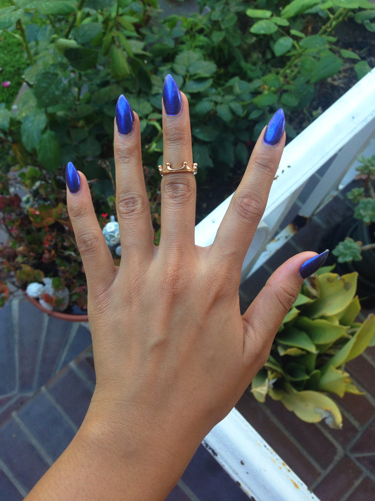 Gold crown midi ring – gold soul