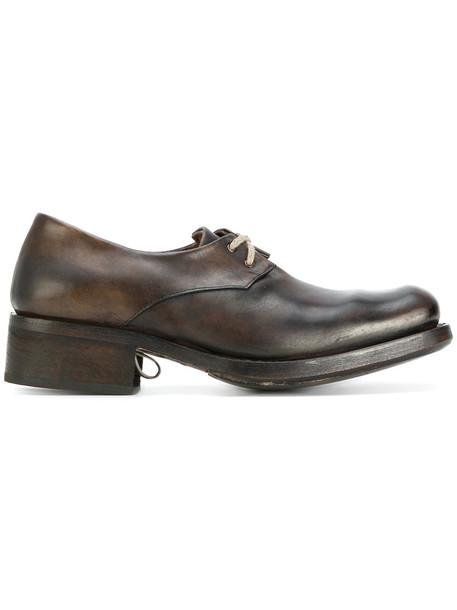 Cherevichkiotvichki women shoes lace leather brown
