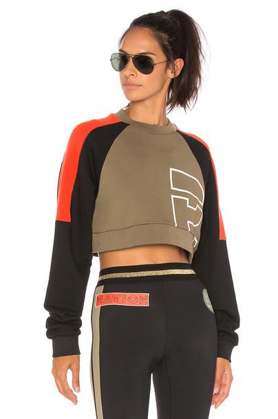 P.E Nation sweatshirt black sweater