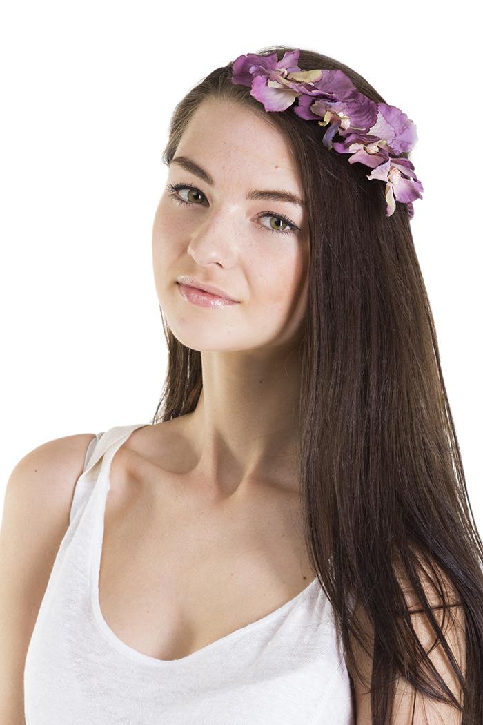 Floral Crowns : Purple Petals Crown
