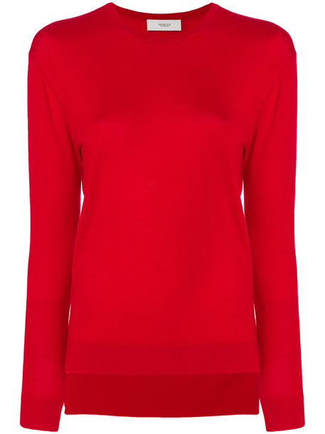 PRINGLE OF SCOTLAND sweater women red
