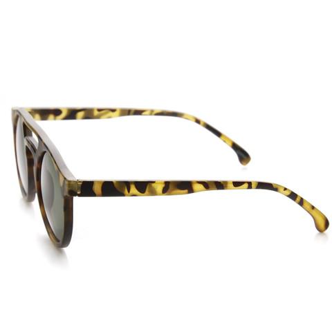 Indie Retro P3 Dapper Fashion Round Sunglasses 9117                           | zeroUV