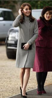 coat,fall outfits,fall coat,kate middleton,pumps