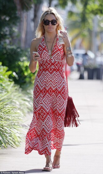 dress kate hudson summer outfits maxi dress