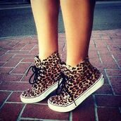 shoes,leopard print,trainers,girl,vans,shorts,high top sneakers,animal print