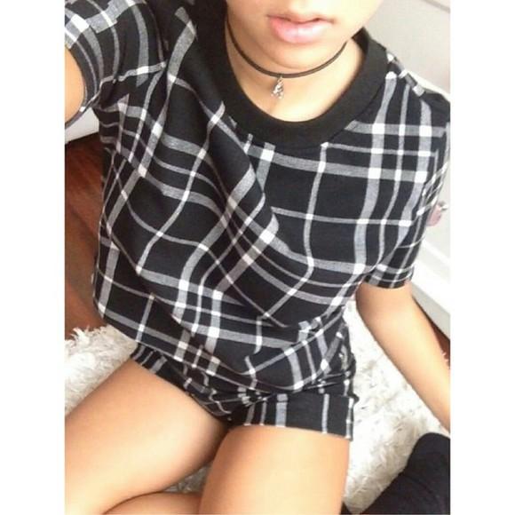 grunge pale jumpsuit flannel