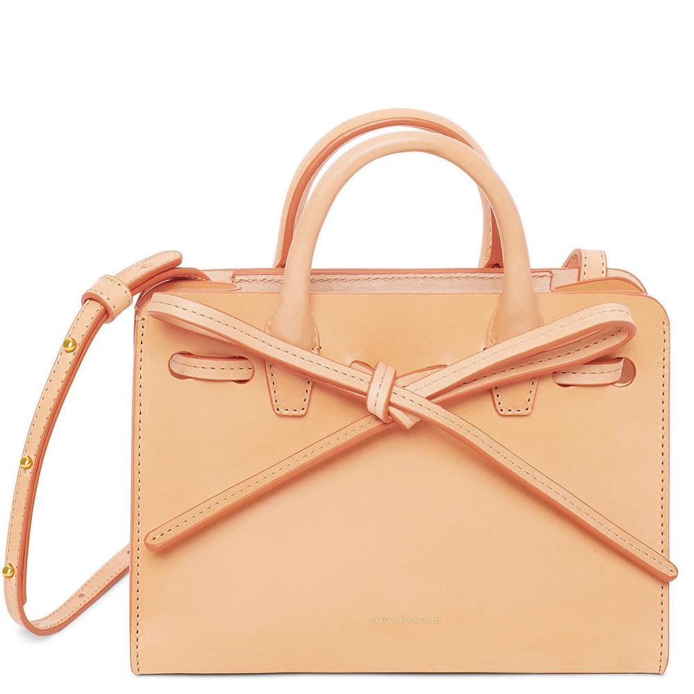 Mansur Gavriel Cammello Mini Mini Sun Bag - Rosa