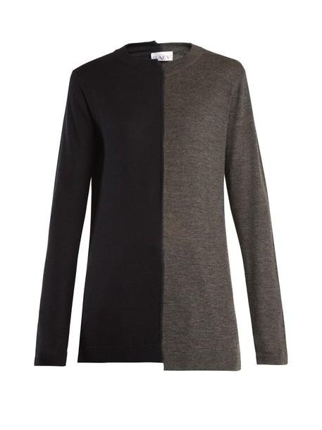 Raey sweater knit navy