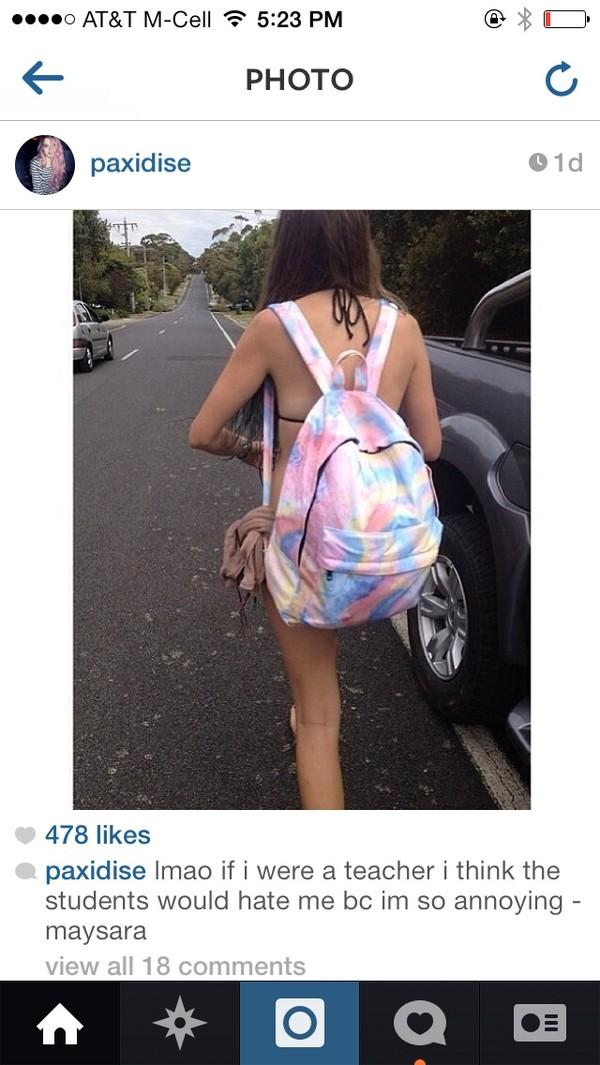 bag blogger cute glamour fashion blogger instagram boho bohemian pastel neon rainbow kawaii