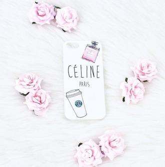 celine nail polish iphone case