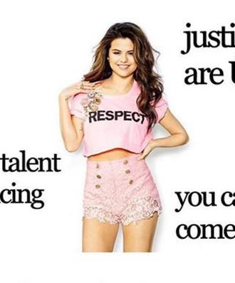 shorts pink lace short