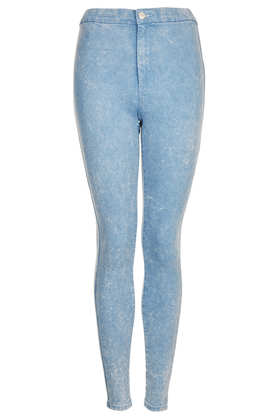 MOTO Blue Acid Joni Jeans - View All - Topshop