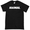 Animal font t-shirt - basic tees shop