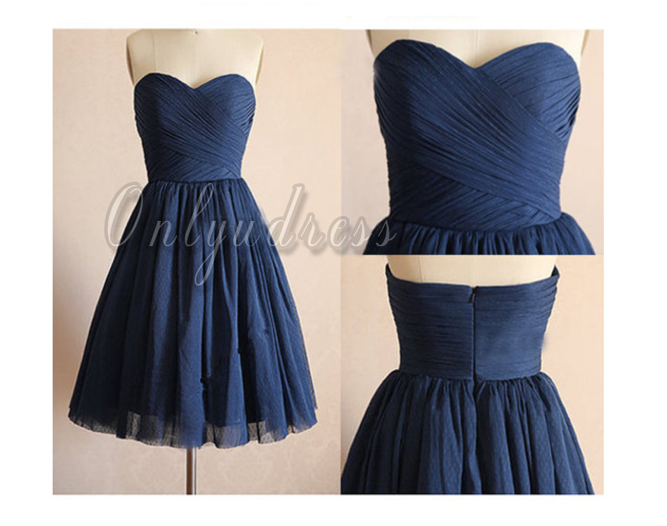 Navy Blue Bridesmaid Dresses Short Bridesmaid Dresses Chiffon Bridesmaid Dresses Cheap Bridesmaid Dresses Navy Blue Wedding Dresses 5389