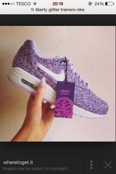 liberty sneakers glitter trainers