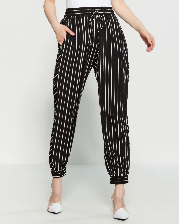 Sumpter Stripe Joggers | C21