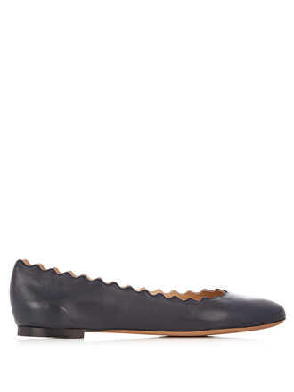 flats leather flats leather navy shoes