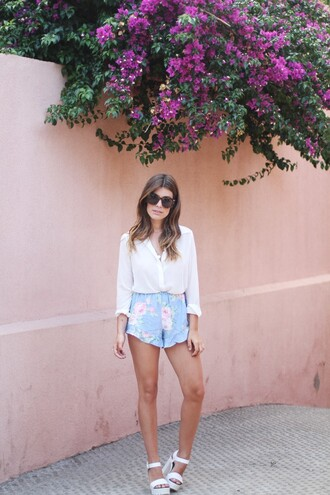 dulceida blouse sunglasses jewels shoes oysho