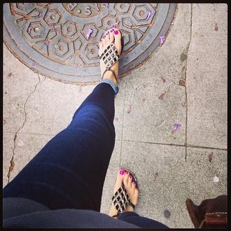 shoes pattern flip flops beach calefornia sandals aztec tribal open-toe