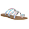 Office oakley strappy mule sandal holographic - sandals