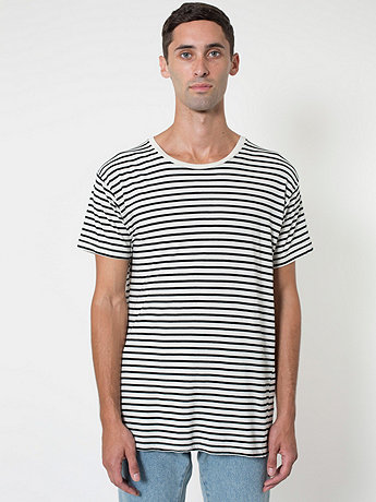 Stripe Tee | American Apparel