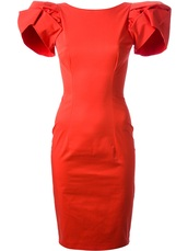 dress,dsquared2,red dress