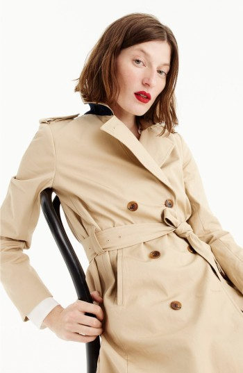 J.Crew Dion Trench Coat | Nordstrom