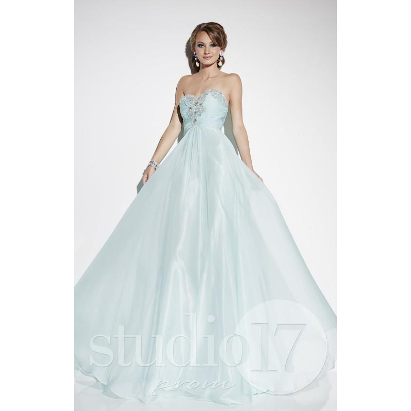 Aqua Studio 17 12559 - Chiffon Dress - Customize Your Prom Dress