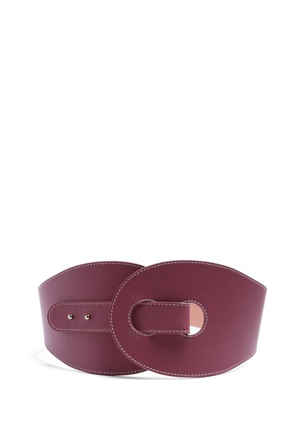 Roksanda belt leather burgundy