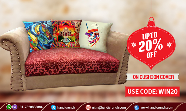 Beau Home Accessory, Home Decor, Decorative Cushions, Living Room Cushions, Cushion  Covers, Pillow, Indian Pillow Cover, Interior Decor, Kantha Pillow Covers    ...