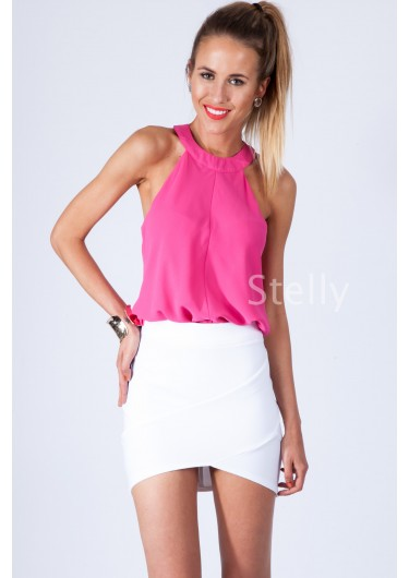 Honey toasted strawberry skirt