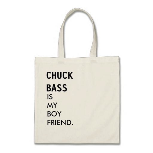 Tote bag chuck bas is my boyfriend