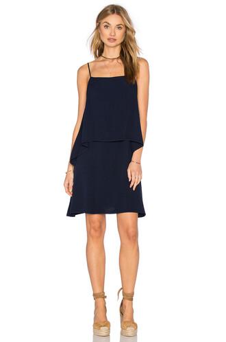 dress mini dress mini sleeveless navy