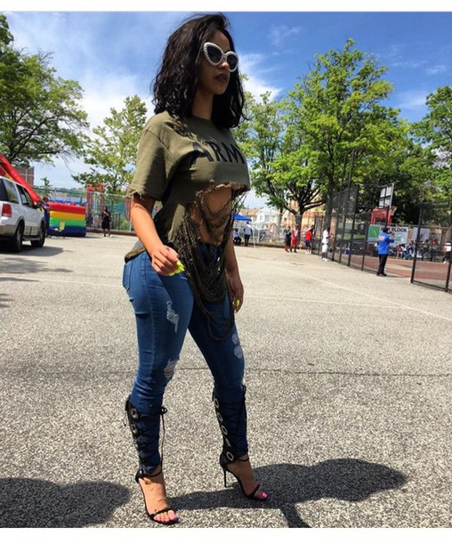 c58021e2ea76 shirt olive green stylish summer top cute top outfit outfit idea summer  outfits cute outfits spring