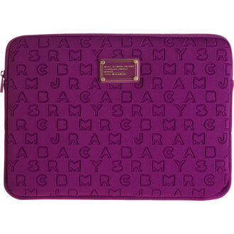 bag purple violet computer case marc jacobs marc by marc jacobs mbmj michael kors bag michael kors new girl nice asap plum computer accessory office supplies zappos