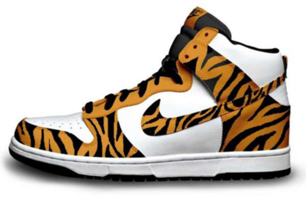 shoes, nike shoes, nike, tiger, tiger