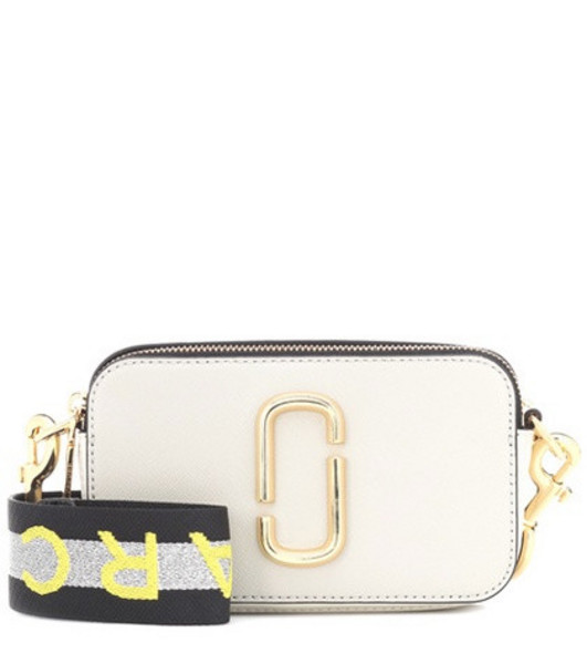 Marc Jacobs Snapshot Small leather camera bag in grey