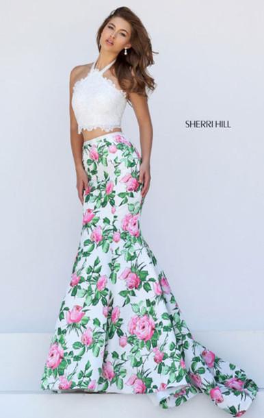 dress, sherri hill long prom dresses