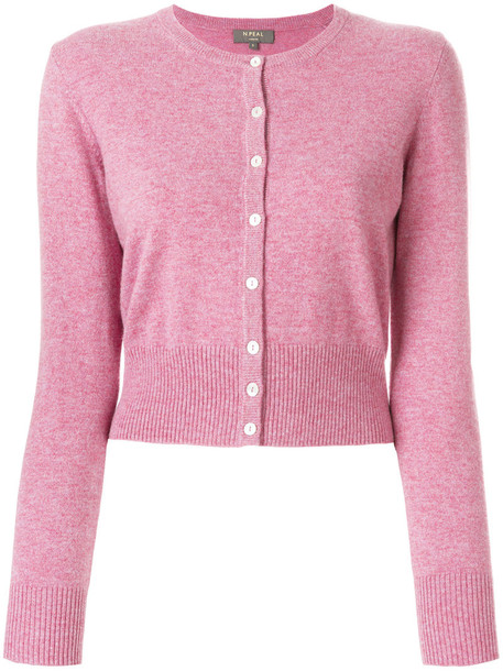 N.Peal cardigan cardigan cropped women purple pink sweater