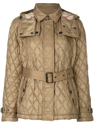 jacket women quilted nude