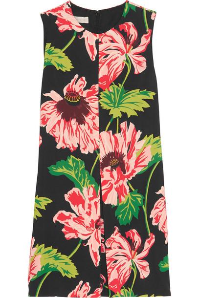 Stella McCartney dress mini dress mini floral print pink green