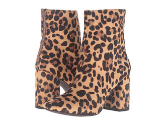shoes animal print boots leopard print