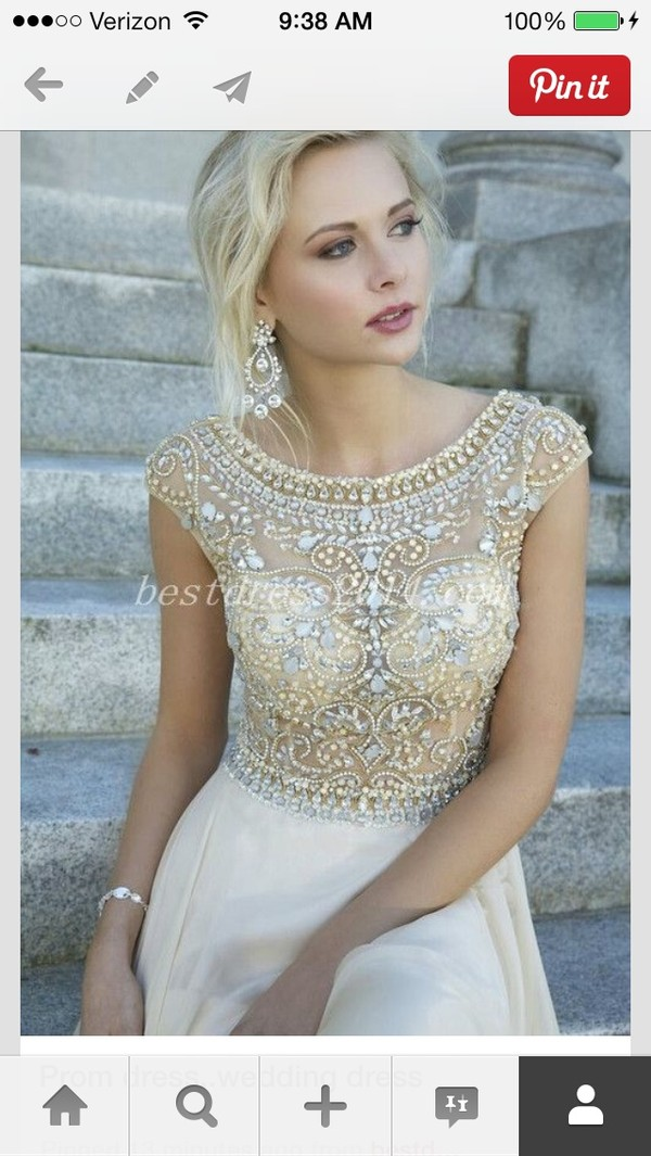 dress prom dress prom dress wedding dress gold