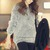 Women's Round Neck Fuzzy Sweater